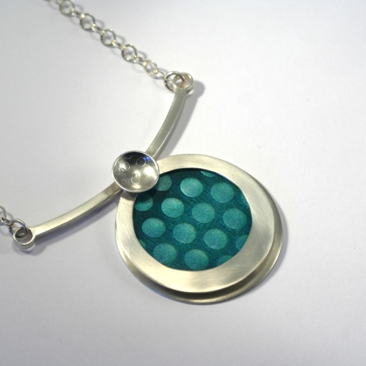 Woven Circle necklace